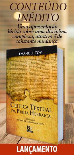 Crítica Textual da Bíblia Hebraica